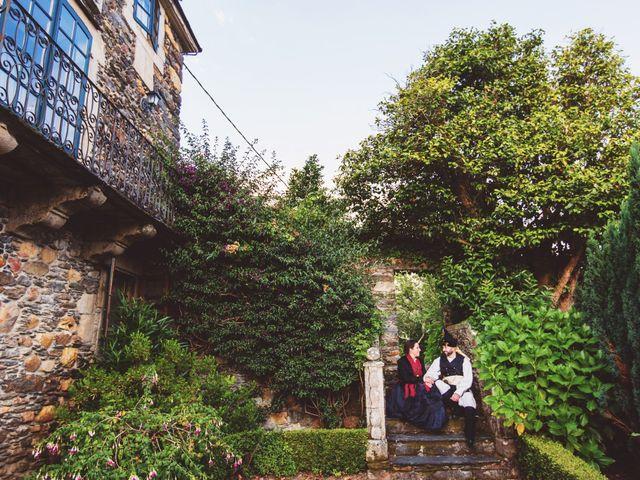 La boda de Javier y Eva en Galdo (Santa Maria), Lugo 39
