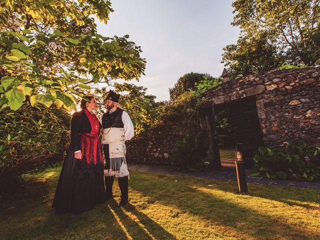 La boda de Javier y Eva en Galdo (Santa Maria), Lugo 2