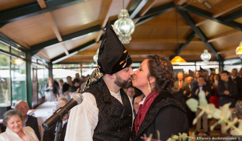 La boda de Javier y Eva en Galdo (Santa Maria), Lugo
