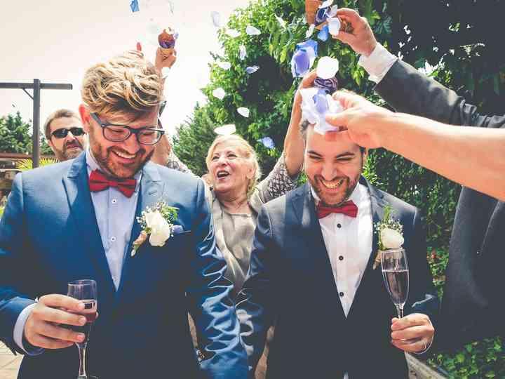 La boda de Manuel y Jordi
