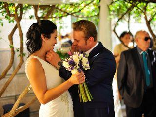 La boda de Elisabet  y Abraham