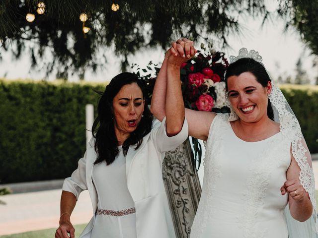 La boda de Pilar y Paula