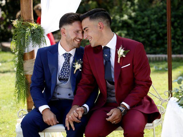 La boda de Adriano y Adrian en Alhaurin De La Torre, Málaga 30