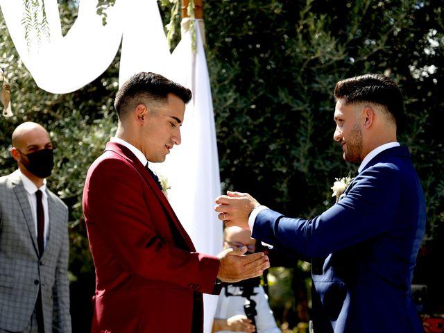 La boda de Adriano y Adrian en Alhaurin De La Torre, Málaga 34