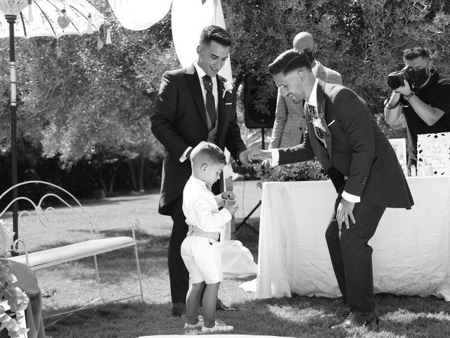 La boda de Adriano y Adrian en Alhaurin De La Torre, Málaga 35