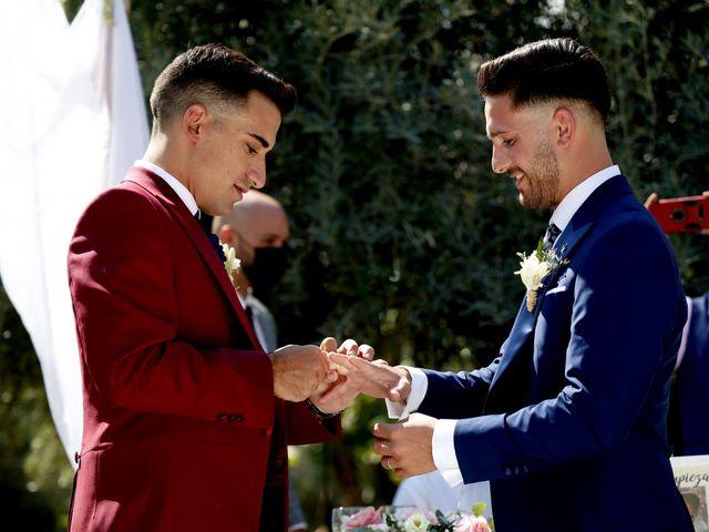 La boda de Adriano y Adrian en Alhaurin De La Torre, Málaga 39