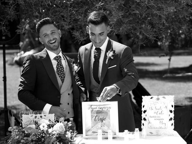 La boda de Adriano y Adrian en Alhaurin De La Torre, Málaga 40
