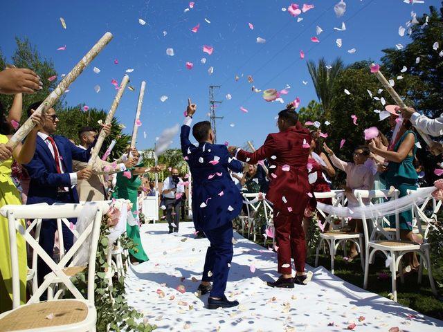 La boda de Adriano y Adrian en Alhaurin De La Torre, Málaga 42