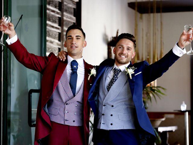 La boda de Adriano y Adrian en Alhaurin De La Torre, Málaga 45