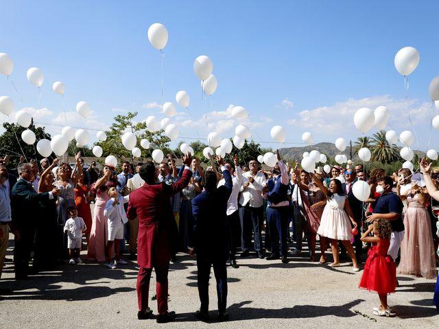 La boda de Adriano y Adrian en Alhaurin De La Torre, Málaga 55