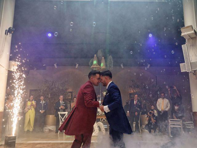 La boda de Adriano y Adrian en Alhaurin De La Torre, Málaga 59
