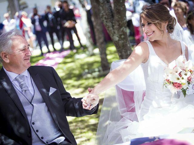 La boda de Fernando y Rocio en San Rafael, Segovia 1