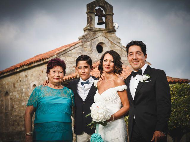 La boda de Marcos y Laura en Luces, Asturias 136