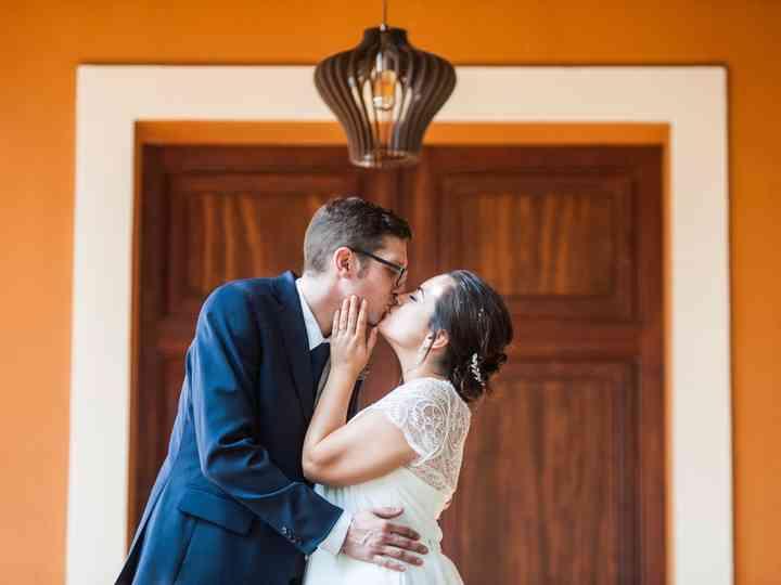La boda de Paula y Tico