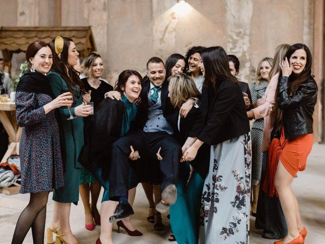 La boda de Sergio y Marian en Otero De Herreros, Segovia 96