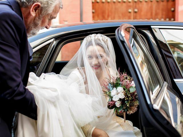 La boda de Álvaro y Ana Laura en Villanueva Del Ariscal, Sevilla 14
