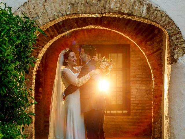 La boda de Álvaro y Ana Laura en Villanueva Del Ariscal, Sevilla 22