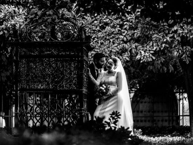 La boda de Álvaro y Ana Laura en Villanueva Del Ariscal, Sevilla 25