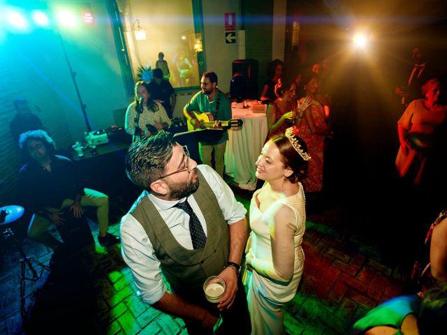 La boda de Álvaro y Ana Laura en Villanueva Del Ariscal, Sevilla 28