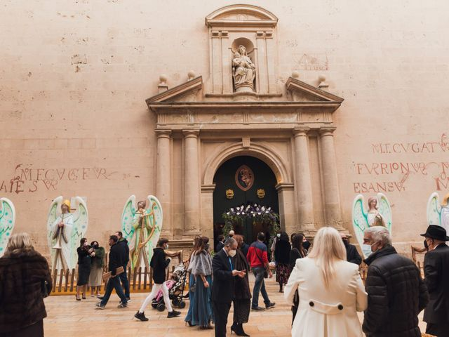 La boda de Álvaro y Lucía en Alacant/alicante, Alicante 22