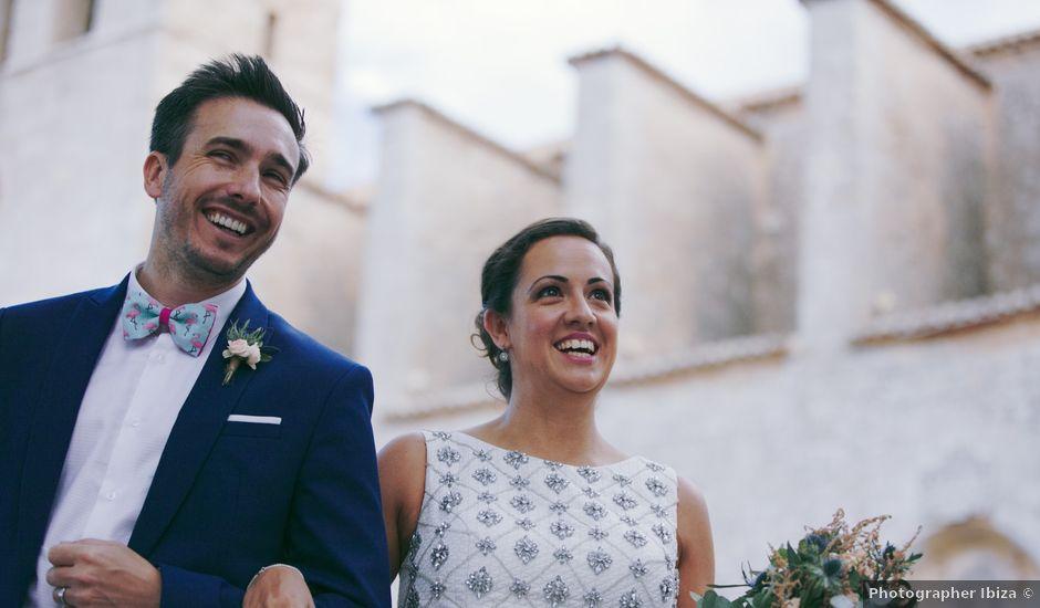 La boda de Carlos y Bela en Cala De San Vicente Ibiza, Islas Baleares