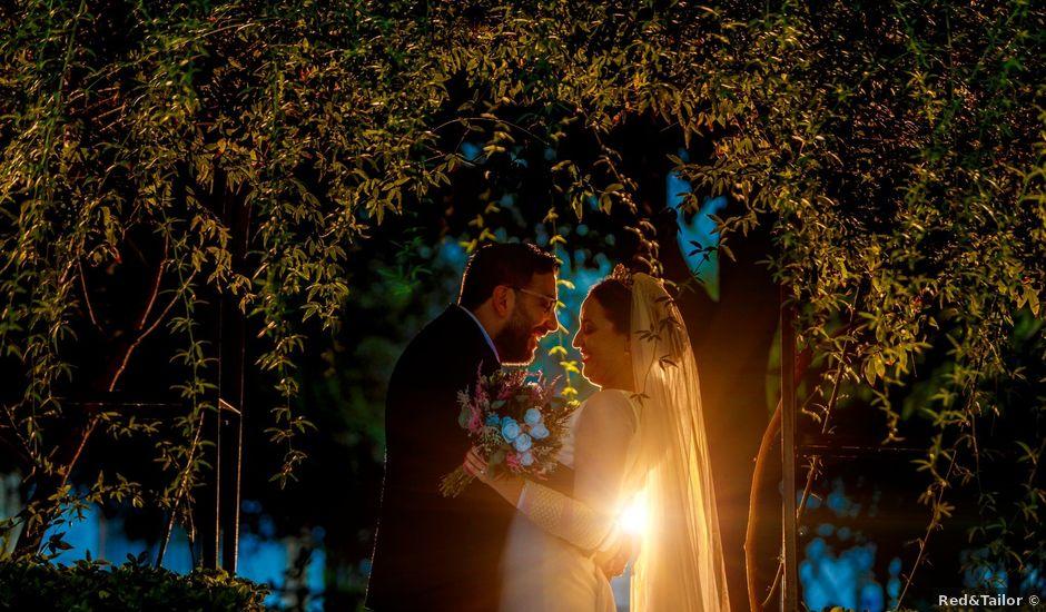 La boda de Álvaro y Ana Laura en Villanueva Del Ariscal, Sevilla