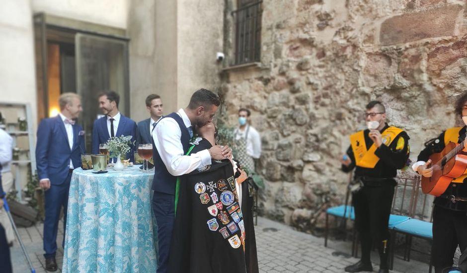 La boda de Tobias y Anabel en Salamanca, Salamanca