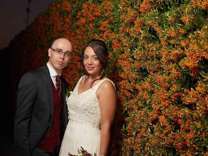 La boda de Rebeca y Vistor