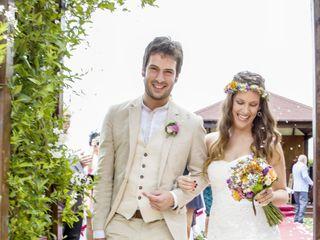 La boda de Iker y Aintzane