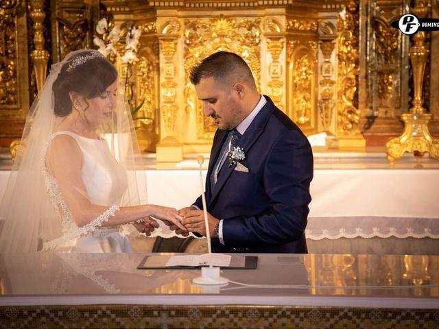La boda de Juanjo  y Lucía en San Fernando, Cádiz 1