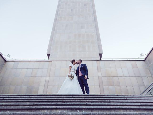 La boda de Dani y Cris en Madrid, Madrid 1