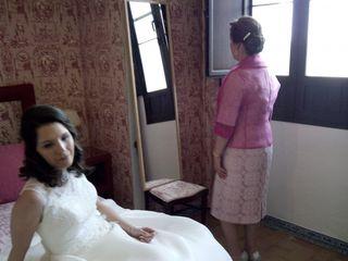 La boda de Frédéric y Cristina