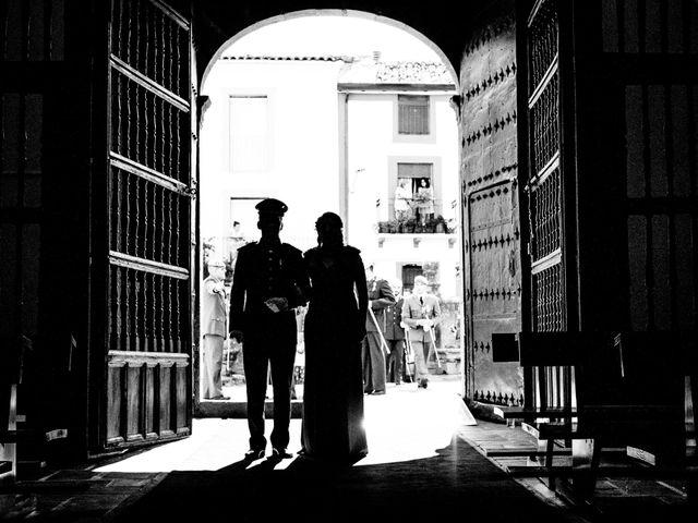 La boda de Juan Carlos y Paloma en Zarza De Granadilla, Cáceres 8