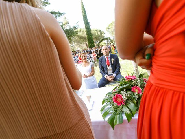La boda de Javier y Paula en Galapagar, Madrid 22