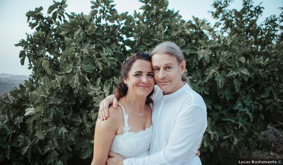 La boda de David y Ana en Arenas, Málaga