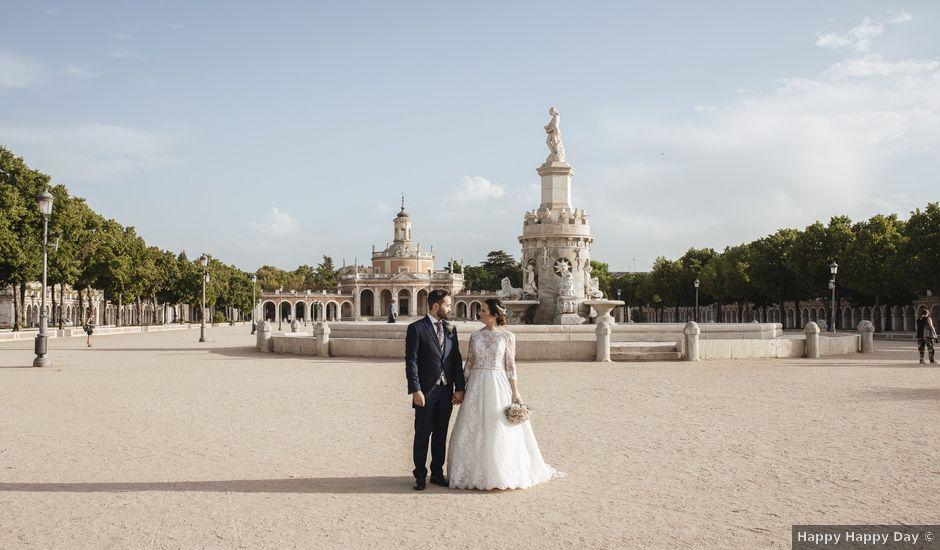 La boda de Carlos y Yaiza en Aranjuez, Madrid