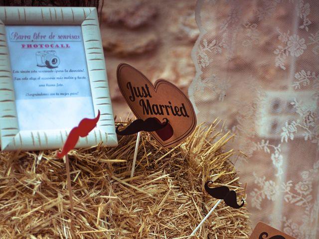 La boda de Sergio y Almuden en Saelices, Cuenca 6