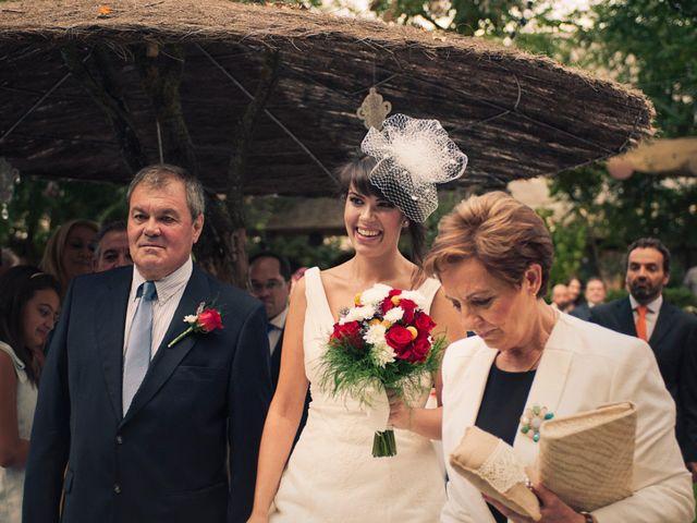 La boda de Sergio y Almuden en Saelices, Cuenca 11