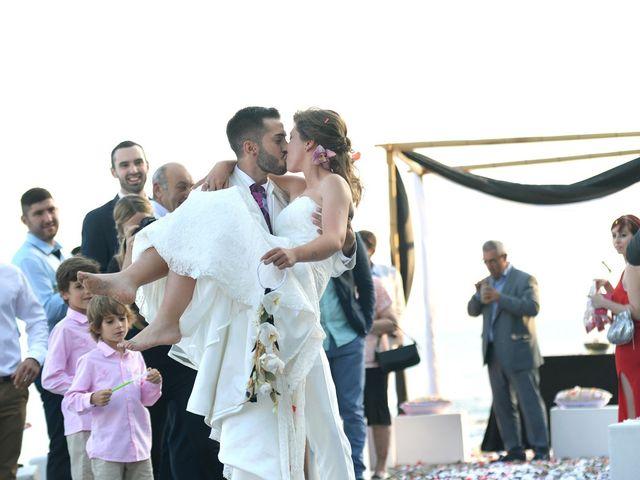 La boda de Alejandro y Davinia en Benalmadena Costa, Málaga 11