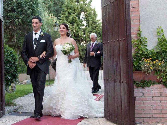 La boda de David y Estefanía en Burujón, Toledo 18