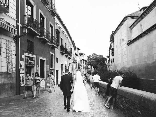 La boda de Fran y María en Otura, Granada 40