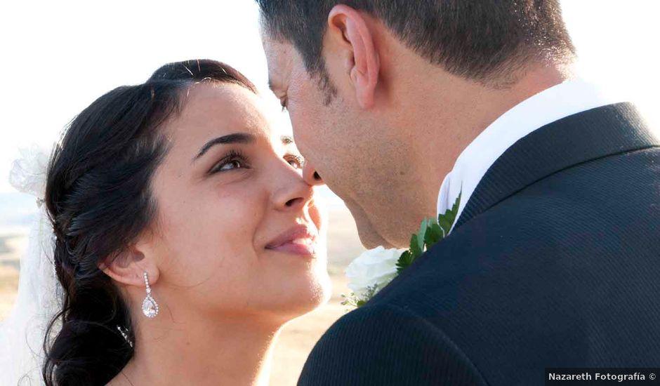 La boda de David y Estefanía en Burujón, Toledo