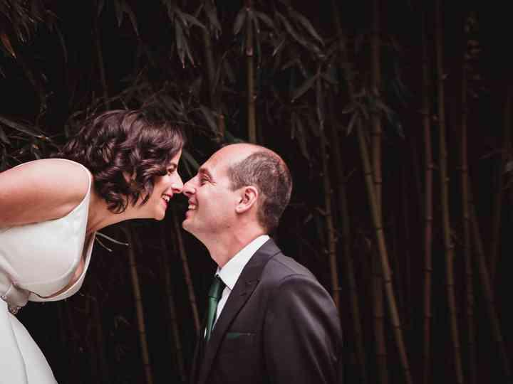 La boda de Ariane y Patxi