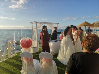La boda de Luisana y Saray 1