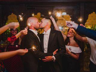 La boda de Alejandro y Borja