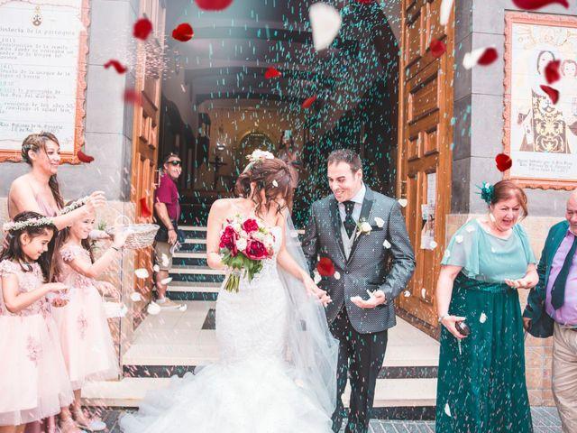 La boda de Juan y Lucía en San Bartolome De Tirajana, Las Palmas 23