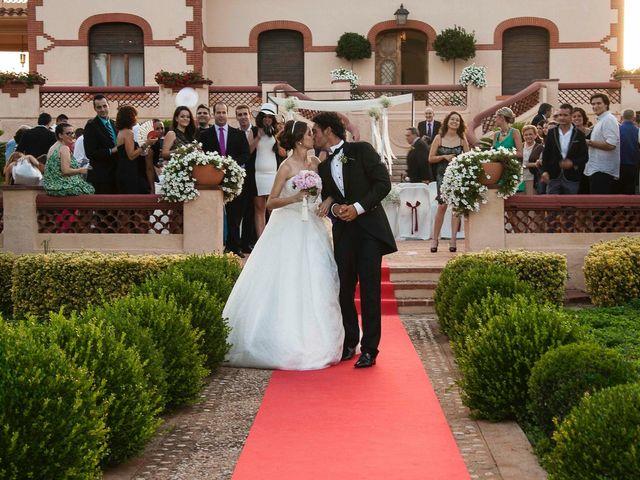 La boda de David y Pilar en Castelló/castellón De La Plana, Castellón 18