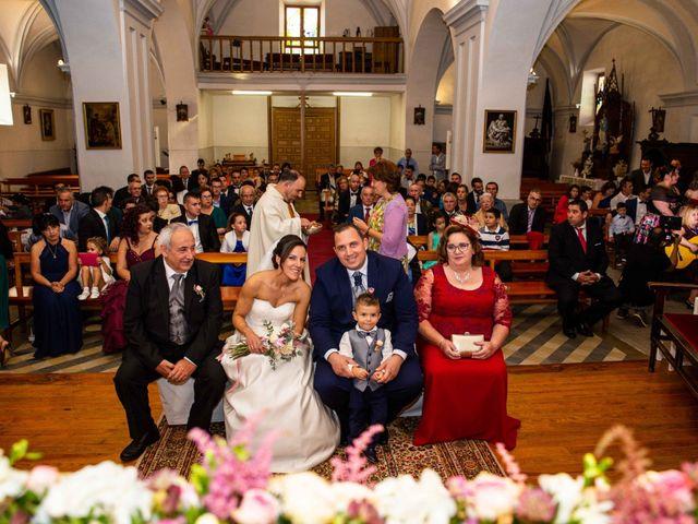 La boda de Sandra y Juan en Navas De Oro, Segovia 38
