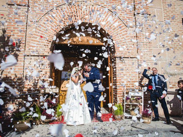 La boda de Sandra y Juan en Navas De Oro, Segovia 44