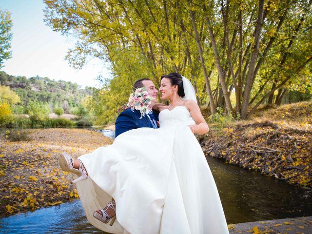 La boda de Sandra y Juan en Navas De Oro, Segovia 51